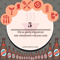 5 dicas para organizar um churrasco de aniversário em sua casa