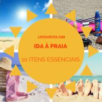 10 itens essenciais para levar à praia